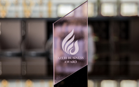 """Caspian Business Award 2016"" mükafatı"