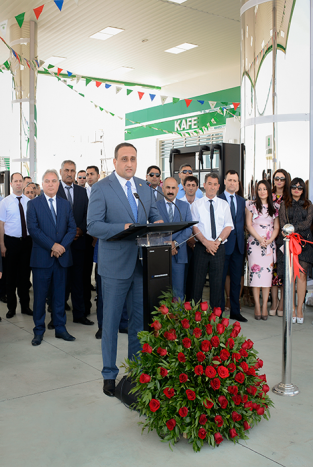 """AZPETROL"" opened new, second filling station in Siyazan."