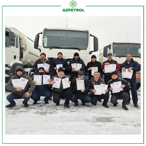 """15 employees of """"Azpetrol"""" Company were awarded with Honorary Certificates"""