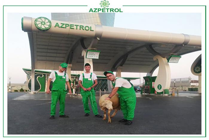 """""""Azpetrol"""" şirkətində  Qurban bayramı."""