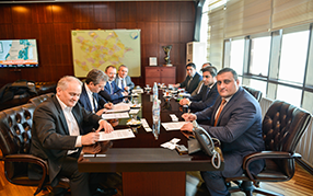 """The signing ceremony of the Agreement between """"Total Company AS24"""" and """"Azpetrol LTD"""" LLC was held"""